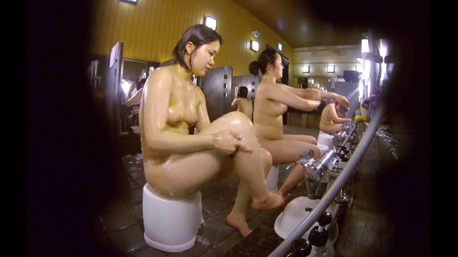 洗い場!ムッチリの2人組。美女ではないですが、触りたくなる体つき 銭湯 | 美女達のヌード  34連発 31
