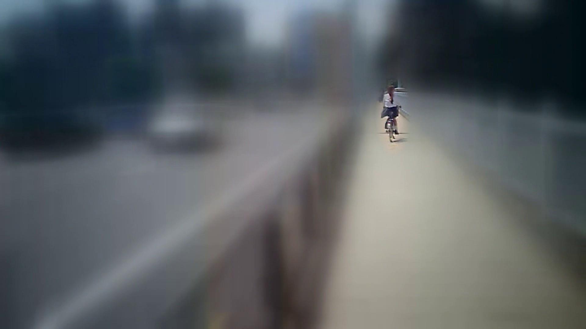 自転車パンチラ Vol.07 チラ | おしり  34連発 13