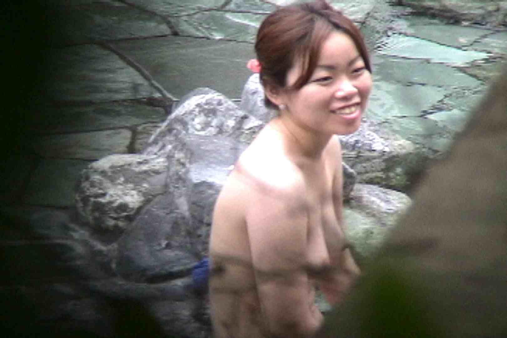 No.17 青い二人 美女達のヌード   露天風呂の女達  79連発 33