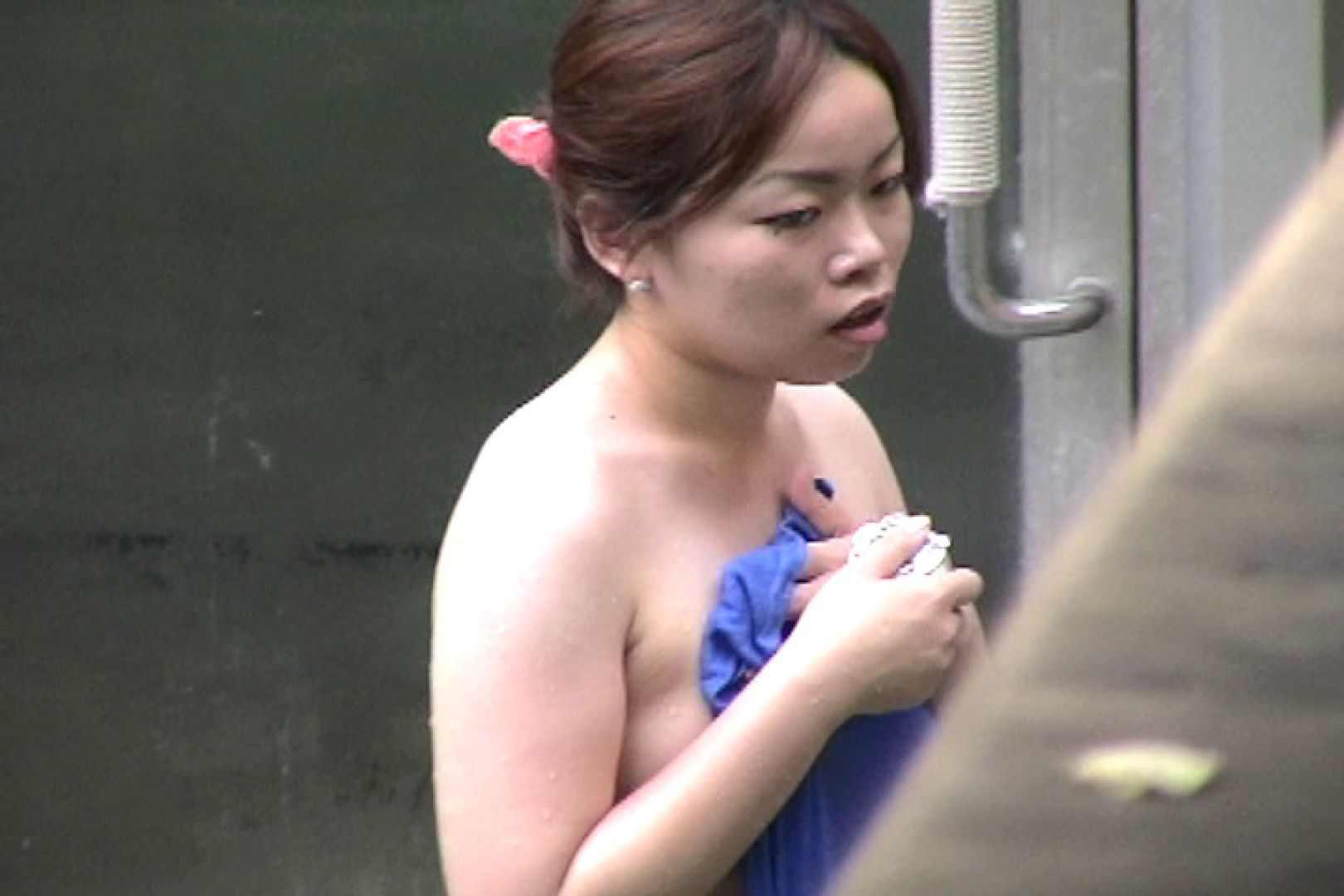 No.17 青い二人 美女達のヌード   露天風呂の女達  79連発 75