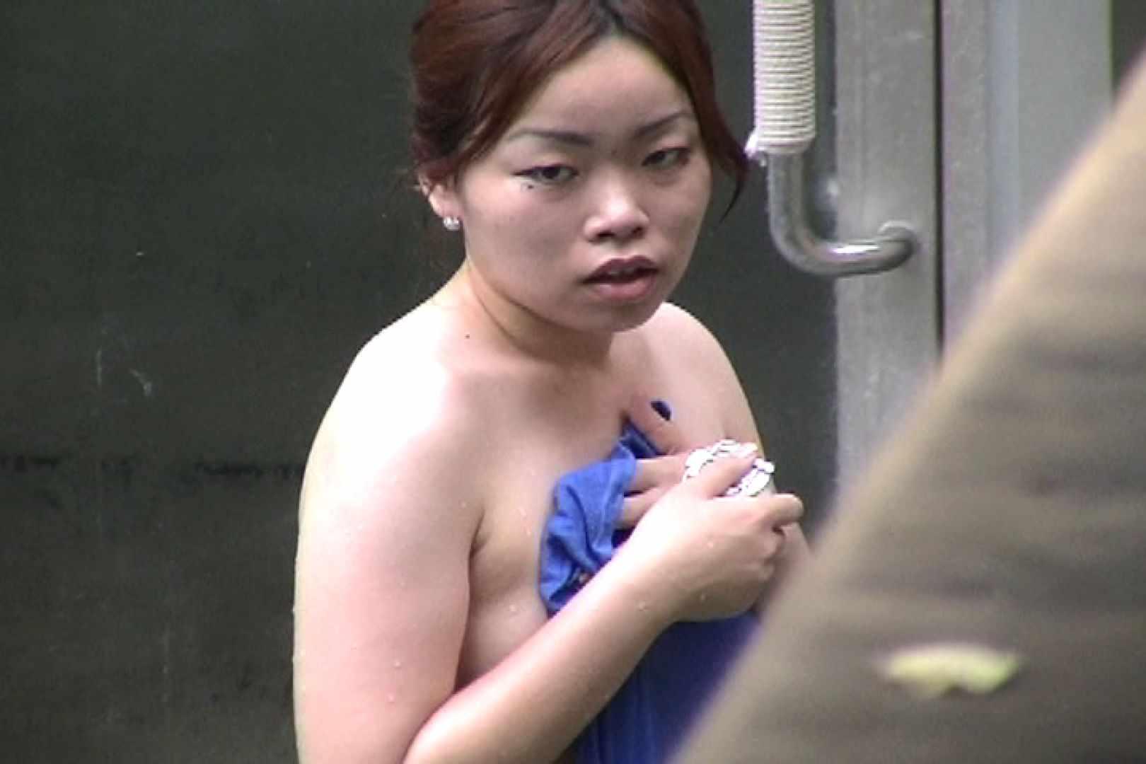 No.17 青い二人 美女達のヌード   露天風呂の女達  79連発 76