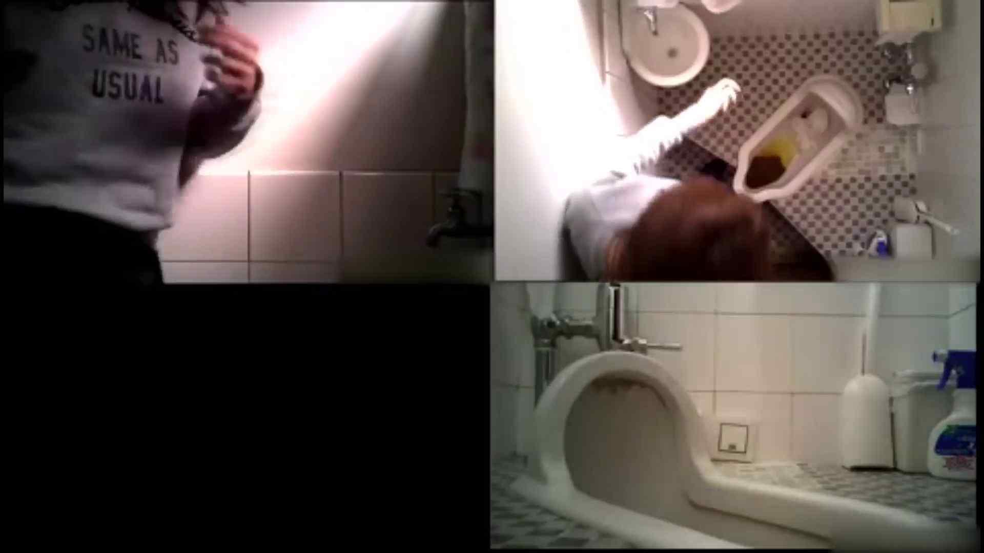 Vol.05 花の女子大生 トイレ恥態 進化系マルチアングル!! トイレ中   女子大生達のヌード  38連発 24