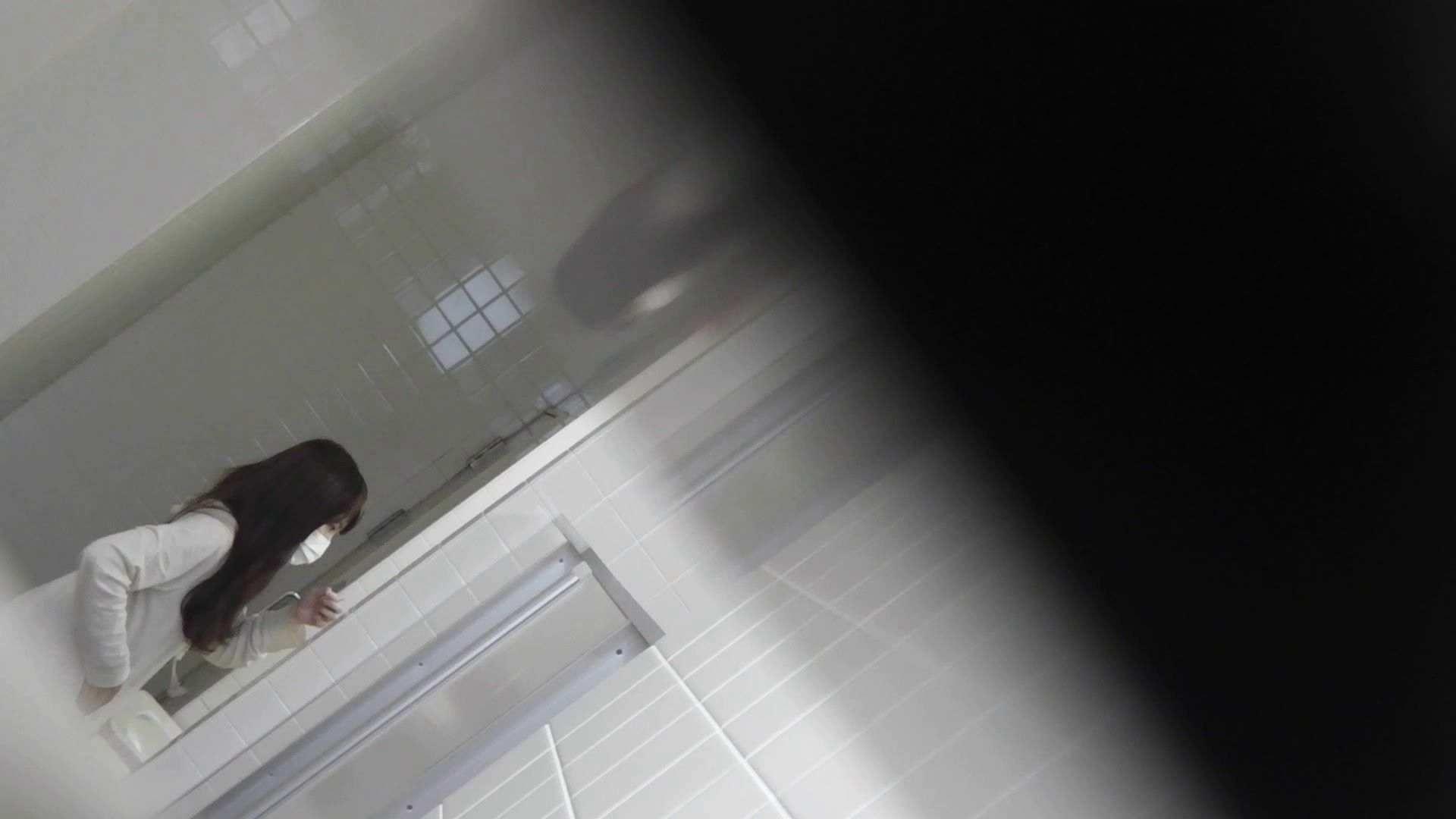 盗撮おまんこ|vol.09 命がけ潜伏洗面所! 残念!パンツについちゃいました。|ピープフォックス(盗撮狐)